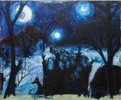 Izložba slika Igora Vasiljeva u Galeriji 2012