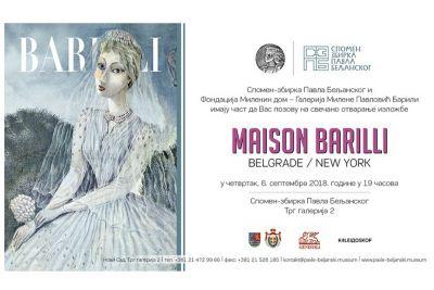 Izložba Maison Barilli: Belgrade / New York i obeležavanje Dana evropske baštine
