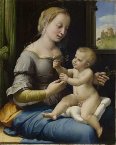 Raphael's The Madonna of the Pinks (around 1506-07)  © The National Gallery, London