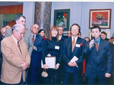 Vladislav Lav Miljković, otvaranje izložbe
