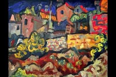 Restrospektivna izložba Milana Konjovića u Domu Vojske