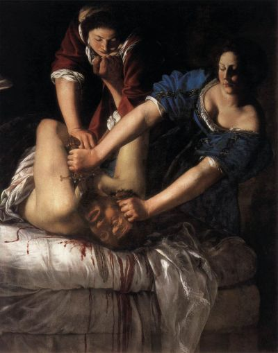 "Made the cut: Gentileschi's Judith Beheading Holofernes (1611-12) is among the 35 works to be included in the ""very selective"" presentation © The National Gallery, London"