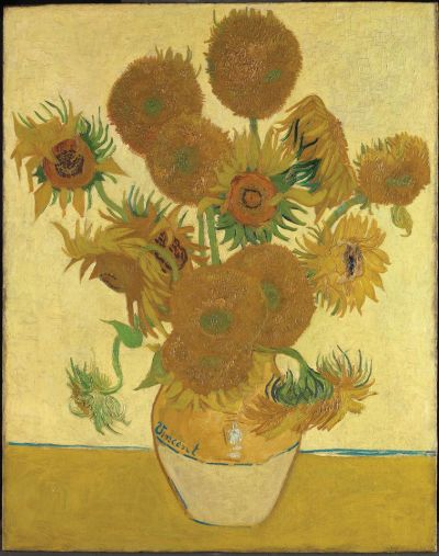 Van Gogh's Sunflowers (1888) is part of the largest group of works to be loaned internationally by the National Gallery. The show, which will coincide with the 2020 Summer Olympics in Tokyo, opens at the National Museum of Western Art before travelling to