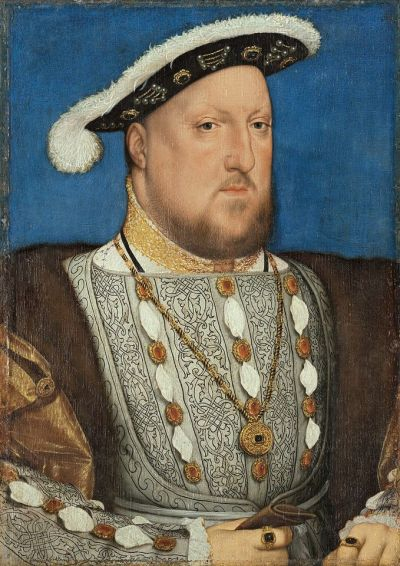 Holbein's Portrait of Henry VIII of England (around 1537), on loan from the Museo Nacional Thyssen-Bornemisza in Madrid, will appear in the Met's show © Museo Nacional Thyssen-Bornemisza, Madrid