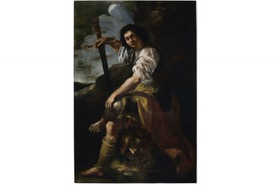 Newly attributed Artemisia Gentileschi painting of David and Goliath revealed in London