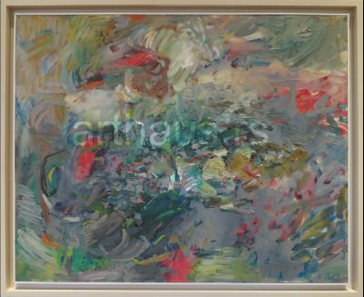 Filo Filipović, Obzorje III,1975, ulje na platnu, 81x100cm