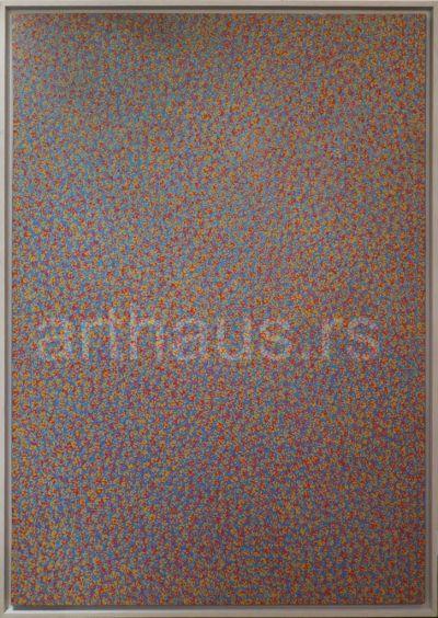 Radomir Damnjanović Damnjan, Quadro, 1991, ulje na platnu, 200x139,6 cm
