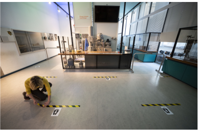 Reopening a Museum After Quarantine: See Photos of Temperature Checks, Face Masks and New Systems